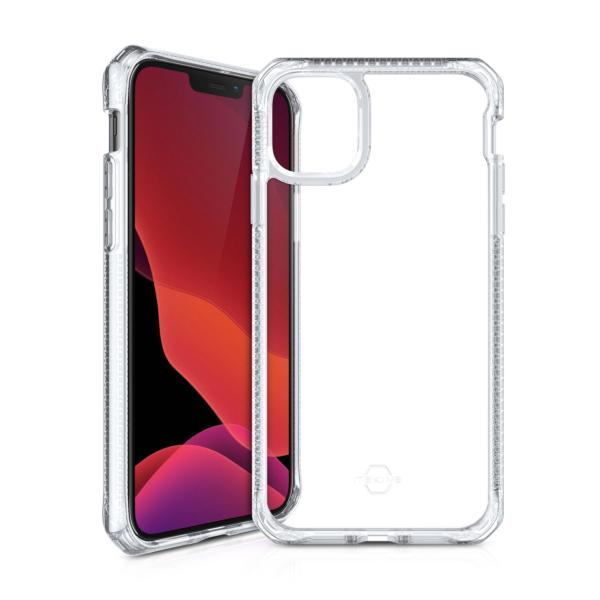 ITSKINS Cover til iPhone 12 Mini. Gennemsigtig/Sort