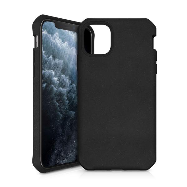 "ITSKINS FERONIABIO Cover til iPhone 11 Pro Max 6,1"". Sort"