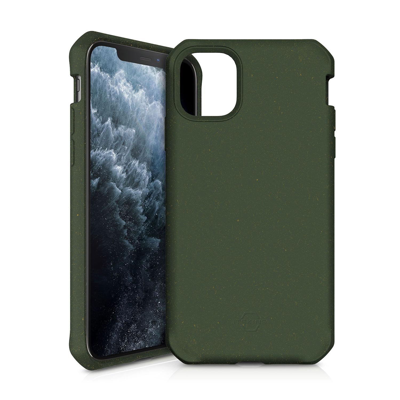 """ITSKINS FERONIABIO Cover til iPhone 11 Pro Max 6,1"""". Kaki Grøn"""