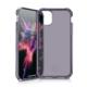 """ITSKINS Cover til iPhone 11 Max 6,5"""". Gennemsigtig Mørk Lilla"""