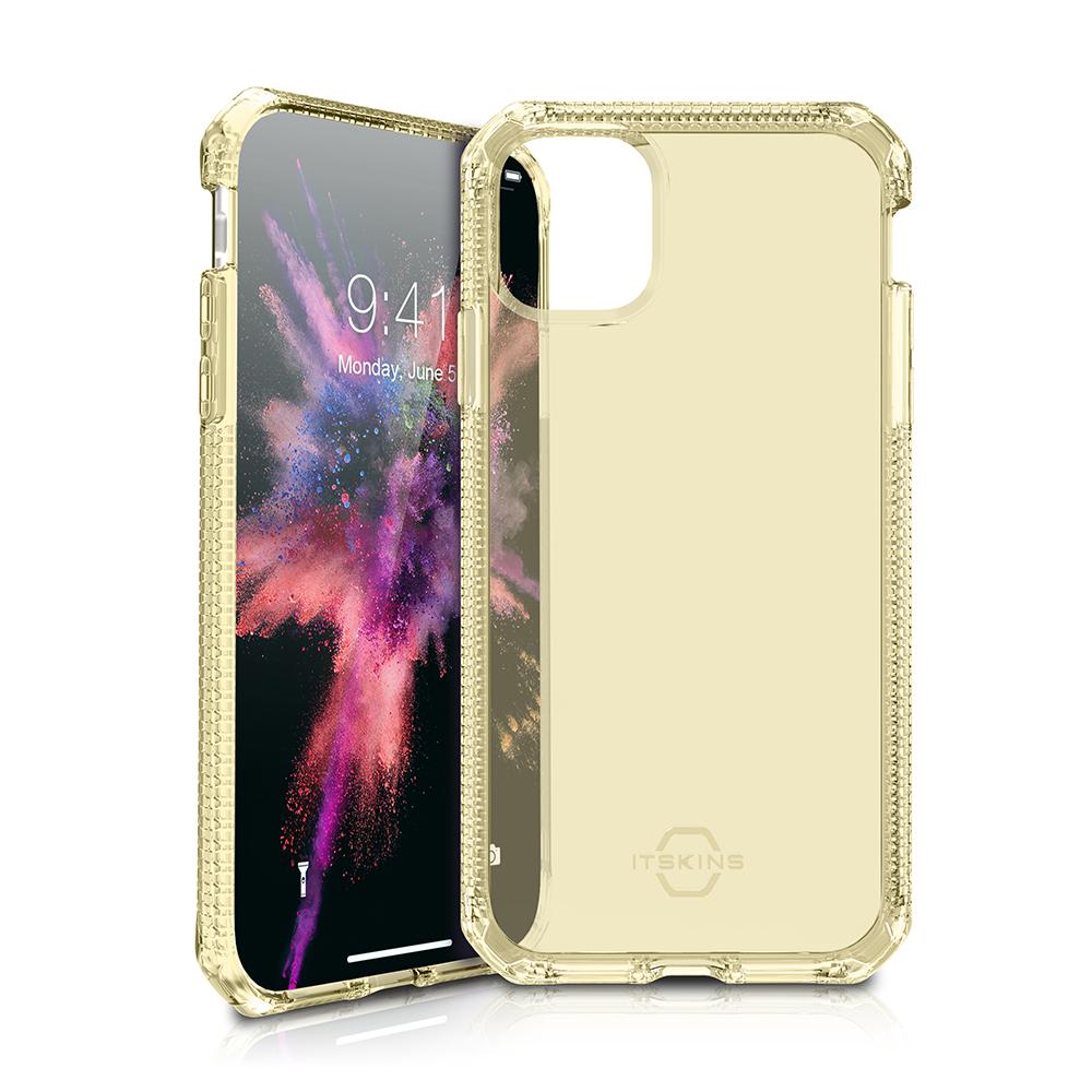 """ITSKINS Cover til iPhone 11 Max 6,5"""". Gennemsigtig Guld"""