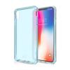ITSKINS Cover til iPhone XS Max. Gennemsigtig Blå