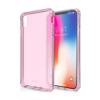 ITSKINS Cover til iPhone XS Max. Gennemsigtig Pink