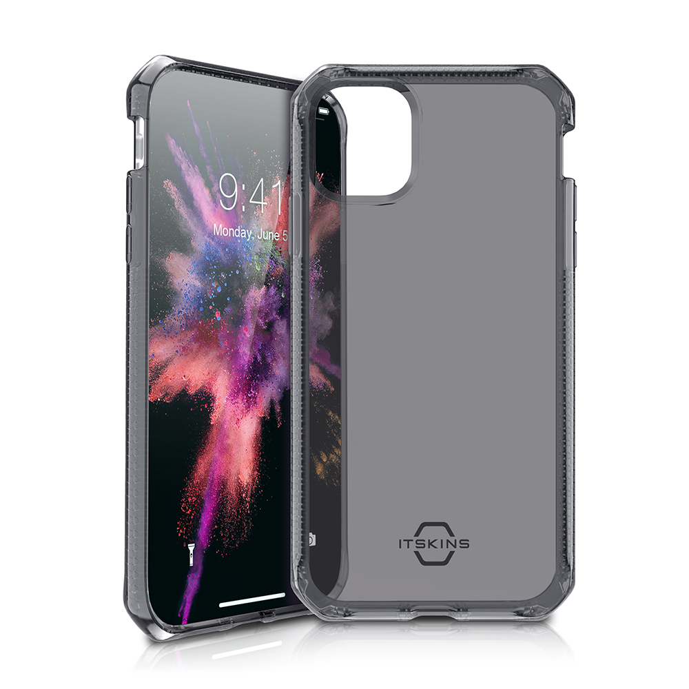 """ITSKINS Cover til iPhone 11 Pro 5,8"""". Gennemsigtig Sort"""