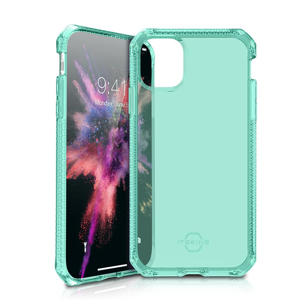 """ITSKINS Cover til iPhone 11 Pro 5,8"""". Gennemsigtig Grøn"""
