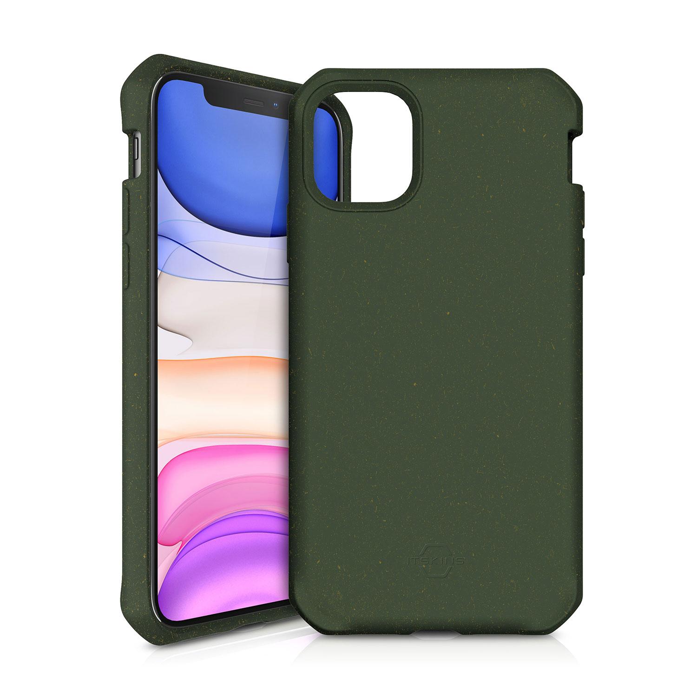 ITSKINS FERONIABIO Cover til iPhone 11. Kaki Grøn