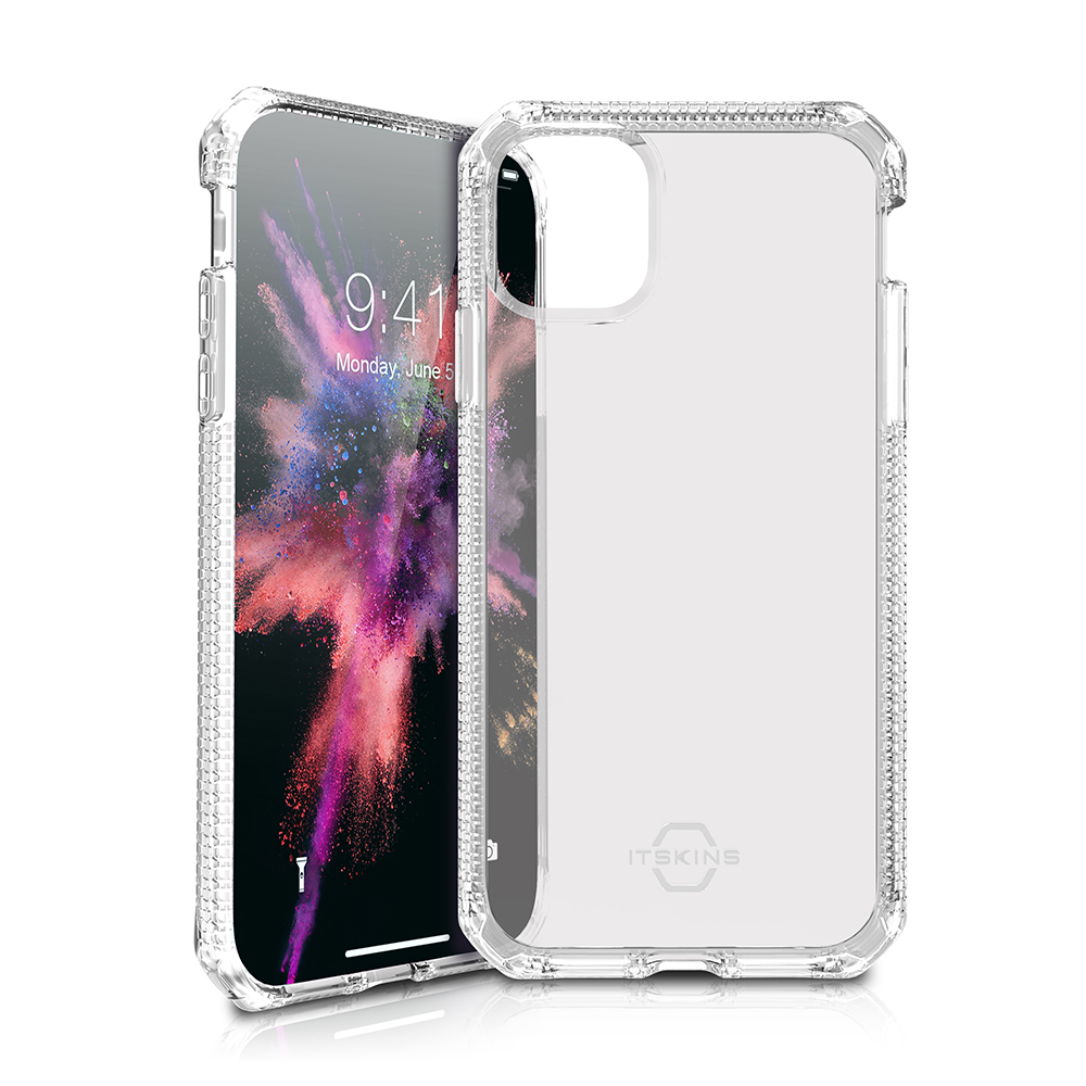 """ITSKINS Cover til iPhone 11 6,1"""". Gennemsigtig"""